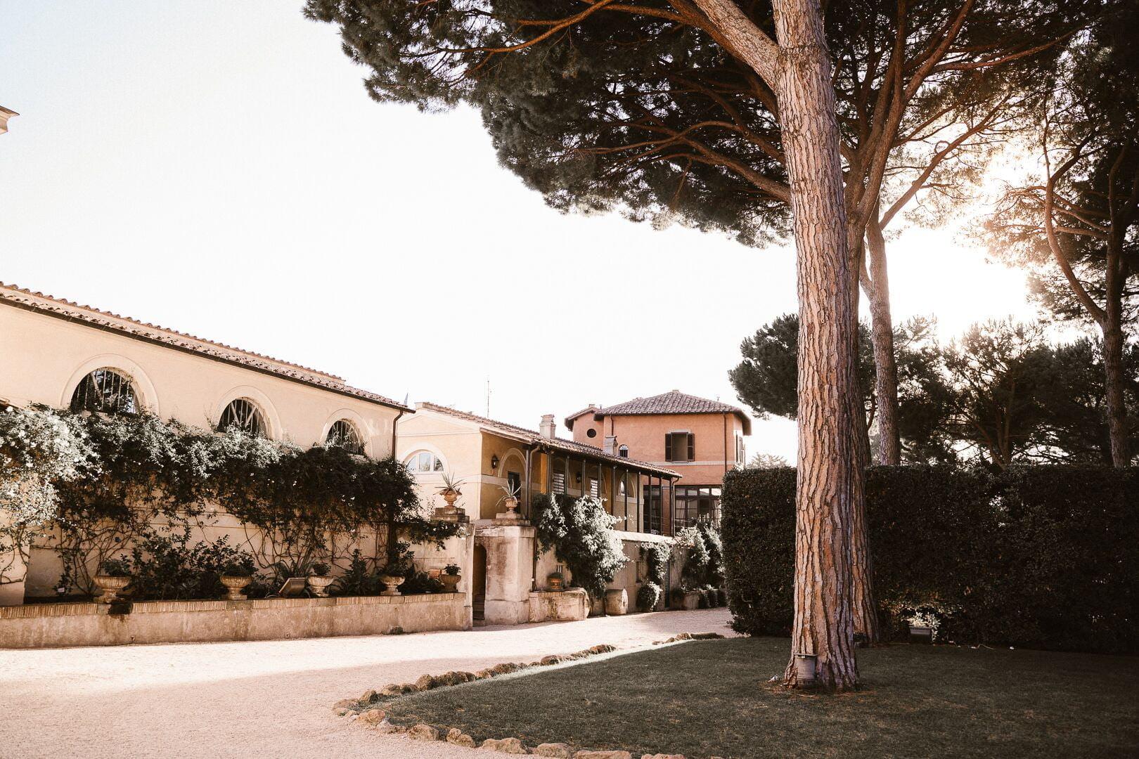 Villa Aurelia Wedding – elopement in Rome