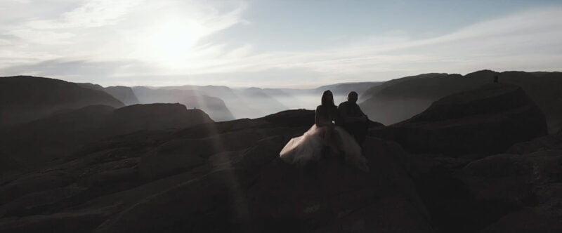 Film Slubny Preikestolen Norwegia SuperWeddings 01