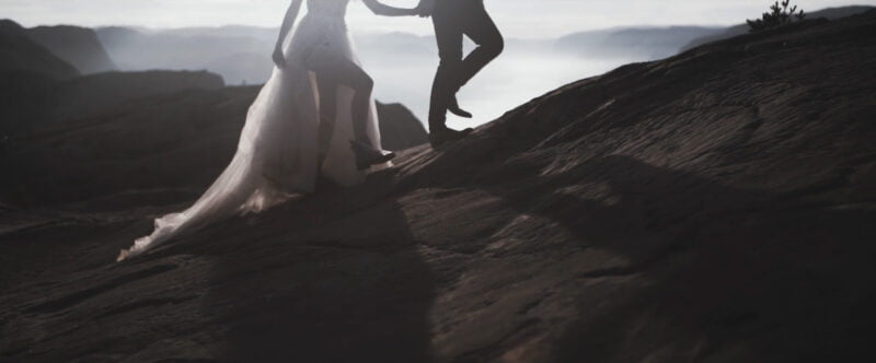 Film Slubny Preikestolen Norwegia SuperWeddings 10