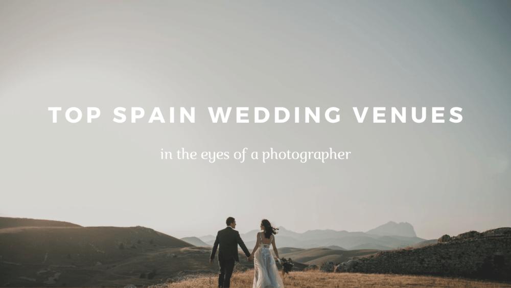 top spain wedding venues