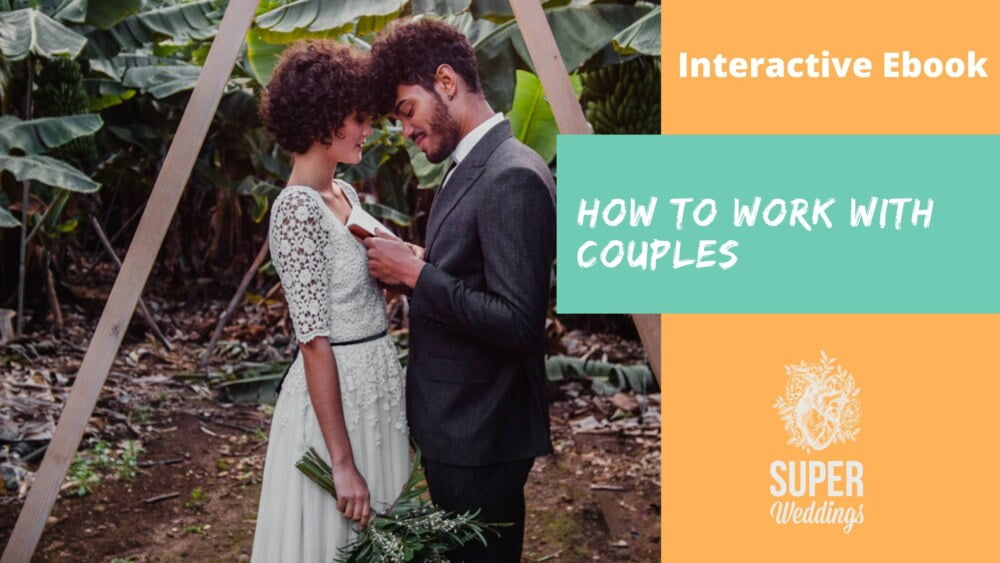 how to work with couples on their wedding day, ebook