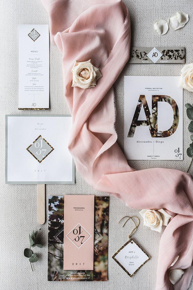 dekoracje ślubne w stylu glamour podczas eleganckiego slubu we Włoszech, które fotografował najlepszy fotograf i kamerzysta na wesele w Polsce