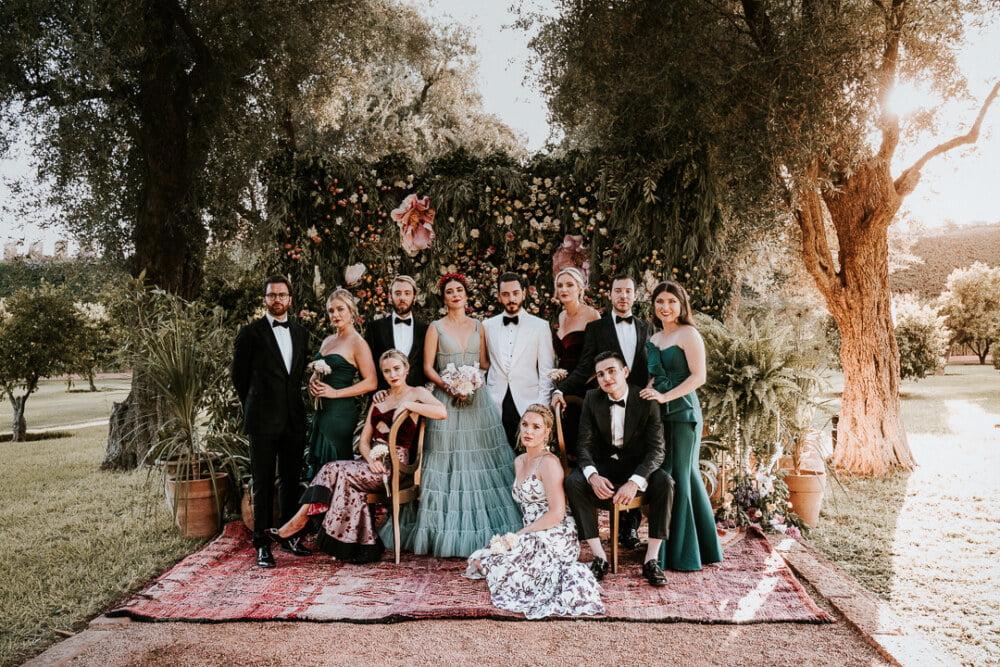 wesele glamour inspiracja marakesz