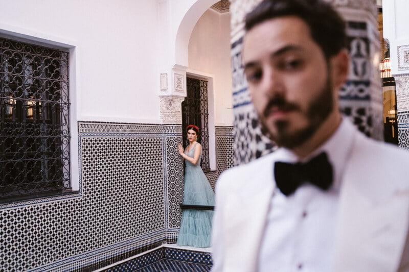 wesele w stylu glamour inspiracja