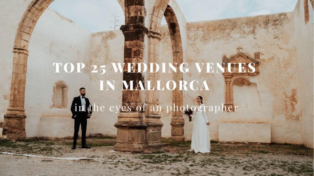 top 25 mallorca wedding venues