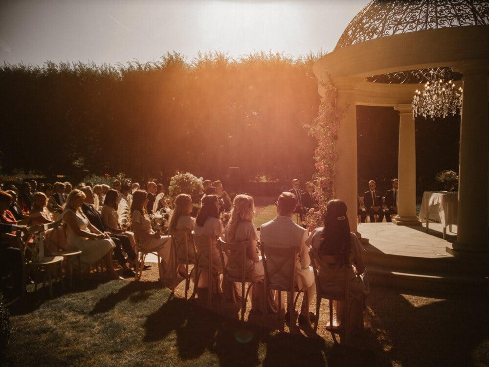 Slub koscielny w plenerze na terenie Palacu Mala Wies1